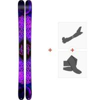 Ski K2 Empress 2019 + Fixations de ski randonnée10C0701.101