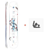 Snowboard Amplid Gogo 2019 + Snowboard BindungenA.180113