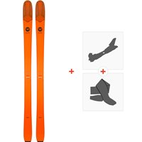 Ski Rossignol Seek 7 Tour 2019 + Fixations de ski randonnéeRAGQR01
