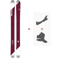 Ski Faction Candide 3.0 2018 + Fixations de ski randonnéeSKI-1718-CT30