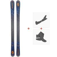 Ski Scott Scrapper 95 2019 + Fixations de ski randonnée266980