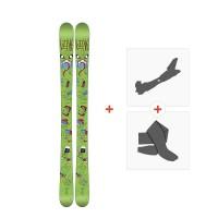Ski Line Future Spin Shorty 2016 + Fixations de ski randonnée