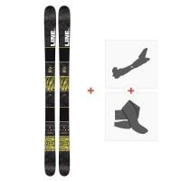 Ski Line Gizmo 2016 + Fixations de ski randonnée