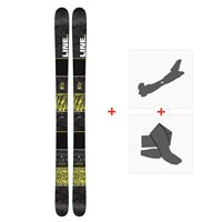 Ski Line Gizmo 2016 + Touring bindings
