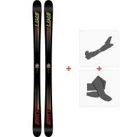 Ski Line Honey Badger 2018 + Fixations de ski randonnée19B0007.101.1