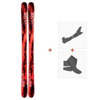 Ski Line Honey Badger 2019 + Fixations de ski randonnée19C0008.101.1