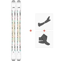 Ski Line Honey Bee 2018 + Fixations de ski randonnée19B0019.101