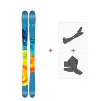 Ski Line Pandora 95 2017 + Fixations de ski randonnée19A0201.101