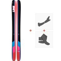 Ski Line Sick Day 114 2019 + Fixations de ski randonnée19C0010.101