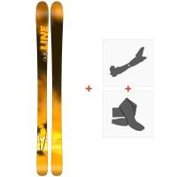 Ski Line Sick Day 94 2018 + Fixations de ski randonnée19B0013.101.1