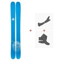 Ski Line Sir Francis Bacon Shorty 2019 + Touring bindings