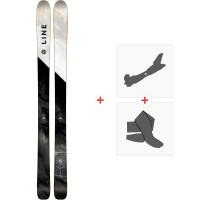 Ski Line Supernatural 100 2018 + Fixations de ski randonnée19B0102.101.1.