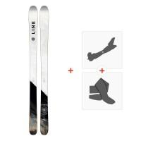 Ski Line Supernatural 86 2018 + Tourenbindungen19B0104.101