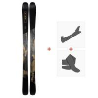 Ski Line Supernatural 92 2019 + Fixations de ski randonnée19B0103.101.1