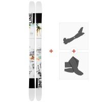 Ski Line Tom Wallisch Pro 2019 + Fixations de ski randonnée19B0010.101