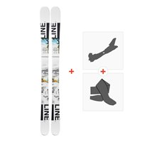 Ski Line Tom Wallisch Shorty 2019 + Fixations de ski randonnée19B0301.101