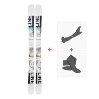 Ski Line Tom Wallisch Shorty 2019 + Tourenbindungen19B0301.101