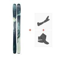 Ski Line Pandora 104 2019 + Fixations de ski randonnée19B0200.101