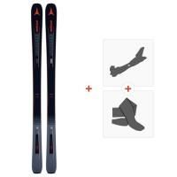 Ski Atomic Vantage 90 TI 2019 + Tourenbindungen + FelleAA0027182