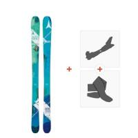 Ski Atomic Vantage Wmn 95 C 2017 + Fixations de ski randonnée + Peaux