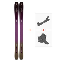 Ski Atomic Vantage WMN 97 C  2019 + Fixations de ski randonnée + Peaux