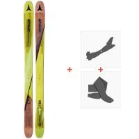 Ski Atomic Backland FR 102 2018 + Fixations de ski randonnée + PeauxAA0026648