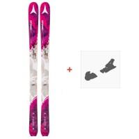 Ski Atomic Backland 85 W 2018 + Fixations de skiAA0026224