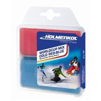 Holmenkol Worldcup Mix COLD Red-Blue 2x 35 g 2019