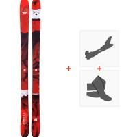 Ski Armada Tracer 88 2020 + Fixations de ski randonnée + PeauxRAST00068