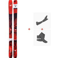 Ski Armada Tracer 88 2020 + Tourenbindungen + FelleRAST00068