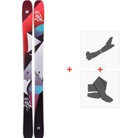 Ski Armada Trace 98 2019 + Fixations de ski randonnée + PeauxRAST00060