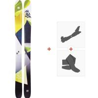 Ski Armada Trace 108 2019 + Fixations de ski randonnée + PeauxRAST00028