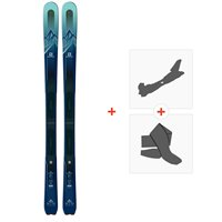 Ski Salomon N Mtn Explore 88 W 2019 + Fixations de ski randonnée + Peaux