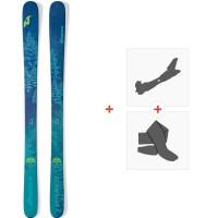 Ski Nordica Santa Ana 93 2019 + Tourenbindungen + Felle0A812200.001