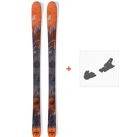Ski Nordica Navigator 90 2019 + Fixations de ski0A809000.001