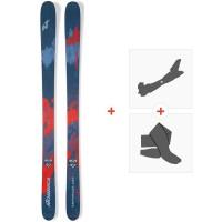 Ski Nordica Enforcer 100 2019 + Fixations de ski randonnée + Peaux0A811400.001