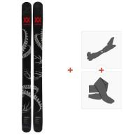 Ski Volkl Revolt 124 2019 + Fixations de ski randonnée + Peaux118436