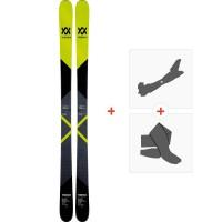 Ski Volkl Revolt 87 2019 + Fixations de ski randonnée + Peaux117438