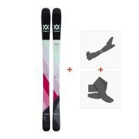 Ski Völkl Yumi 2018 + Fixations de ski randonnée + Peaux117410