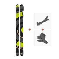 Ski Dynastar Slicer 2014 + Fixations de ski randonnée + Peaux
