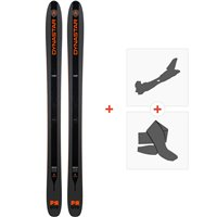 Ski Dynastar Pr-Oto Factory 2019 + Fixations de ski randonnée + PeauxDAHS001