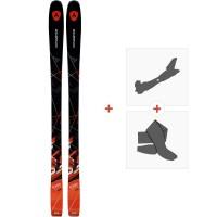 Ski Dynastar Powertrack 84 2017 + Fixations de ski randonnée + PeauxDRF02H3
