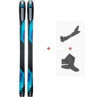 Ski Dynastar Legend W88 2018 + Fixations de ski randonnée + PeauxDRG03S7