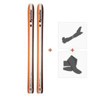 Ski Dynastar Legend Big Dump 2012 + Fixations de ski randonnée + PeauxDA1R801