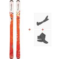 Ski Dynastar Exclusive Eden 2013 + Fixations de ski randonnée + Peaux