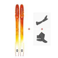 Ski Dynastar Cham 127 2014 + Fixations de ski randonnée + PeauxDA2K601