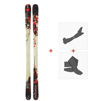 Ski Dynastar 6th Sense Superpipe + Fixations de ski randonnée + PeauxDA9TG04