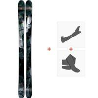 Ski Armada ARW 96 2019 + Fixations de ski randonnée + PeauxRAST00052