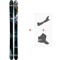 Ski Armada ARW 86 2019 + Fixations de ski randonnée + PeauxRAST00066
