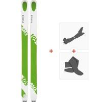 Ski Kastle BMX105 2019 + Fixations de ski randonnée + Peaux